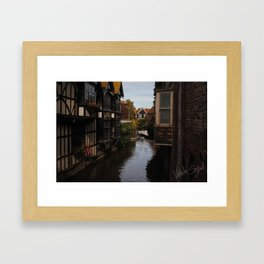 Canterbury Framed Art Print