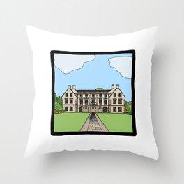 Cambridge struggles: Magdalene College Throw Pillow