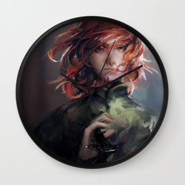 Young Wind Wall Clock