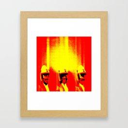 TRANSCOM Framed Art Print