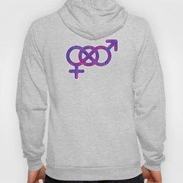 Bisexual Infinity Symbol Gay Pride LGBT Streetwear Hoody