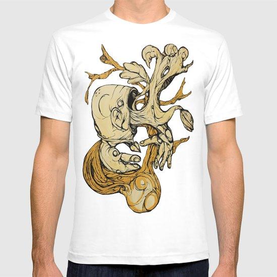 Wood Vomit.. T-shirt