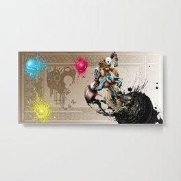 InkSans - Wallpaper Metal Print