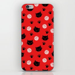 Volley Cats! iPhone Skin