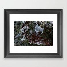 Frosted Framed Art Print
