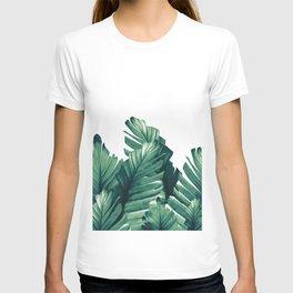Green Banana Leaves Dream #1 #tropical #decor #art #society6 T-shirt