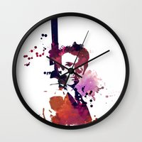 harry Wall Clocks featuring Harry by BIG Colours