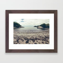 Moonrise Kingdom Beach - Wes Anderson Framed Art Print