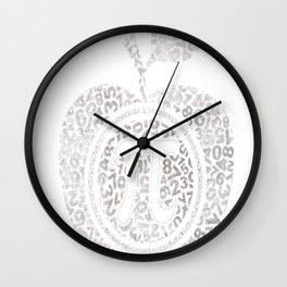 Apple Pi - Math Shirt, pi day T-shirt Wall Clock