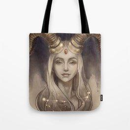 Zodiac Capricorn Tote Bag