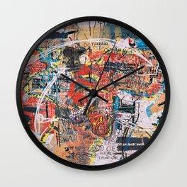 World Mapsqiuat Wall Clock