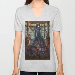 witch of knowledge Unisex V-Neck