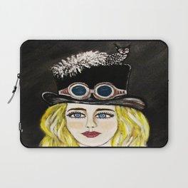 Steampunk Beauty Laptop Sleeve