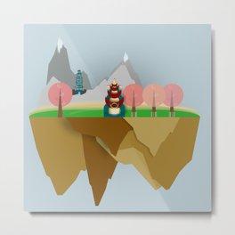 Floating Islands V Metal Print