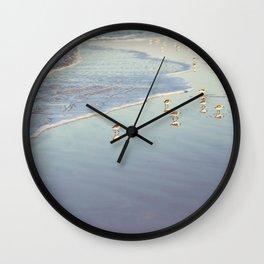 Early Birds Wall Clock