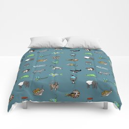 Animal alphabeth blue Comforters