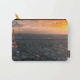 Sunset in the city of love Carry-All Pouch