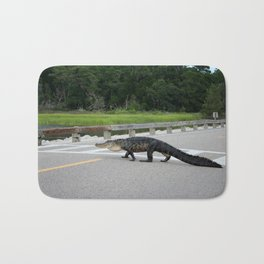 Alligator Right Of Way Bath Mat