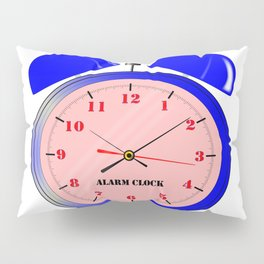 Oval Alarm Clock Pillow Sham