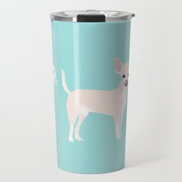 Chihuahua funny fart dog pure breed gifts dog lovers Travel Mug