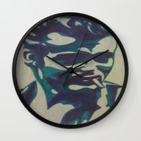 james franco Wall Clocks featuring James by Artistry by Briana