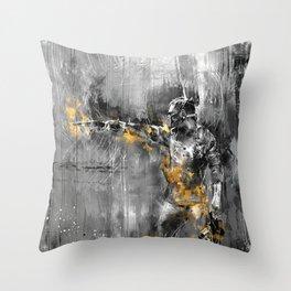 The Fool Throw Pillow