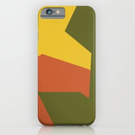 Minimalism Abstract Colors #6 iPhone Case