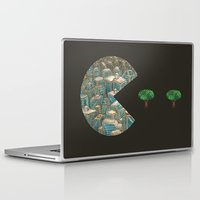 pacman Laptop & iPad Skins featuring Pacman by gunberk