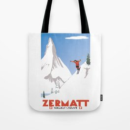 Zermatt, Valais, Switzerland Tote Bag