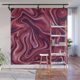Liquid Fuchsia Wall Mural