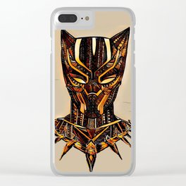 Panther Clear iPhone Case