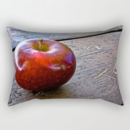Apple at the Table - The Peace Collection Rectangular Pillow