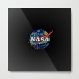 Starry Nasa Metal Print