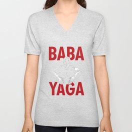 Baba Yaga Unisex V-Neck
