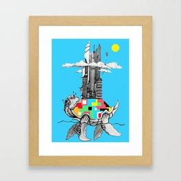 Turtle Rock Framed Art Print