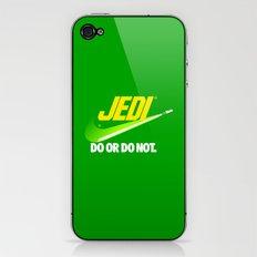Brand Wars: Jedi - green lightsaber iPhone & iPod Skin