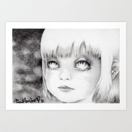 """Mortrait I"" Art Print"