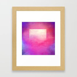 Square Composition I Framed Art Print