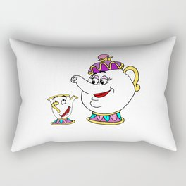 Mother and son Rectangular Pillow