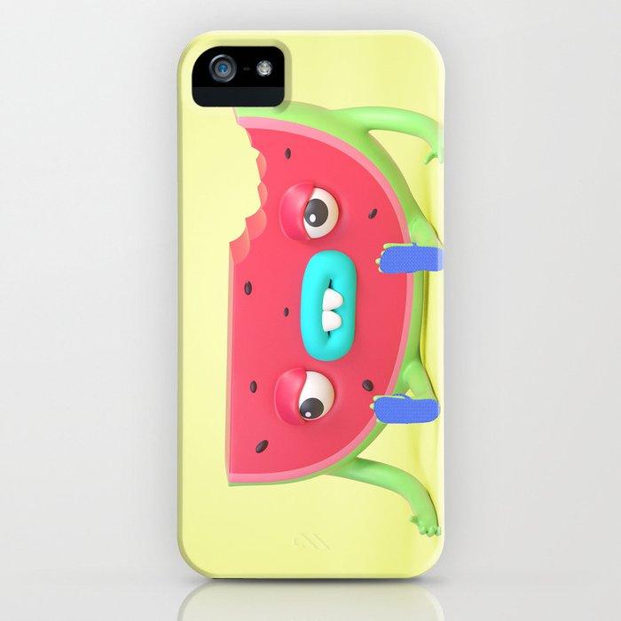 Watermelon dude iPhone Case