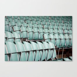 Chairs & bleachers Canvas Print