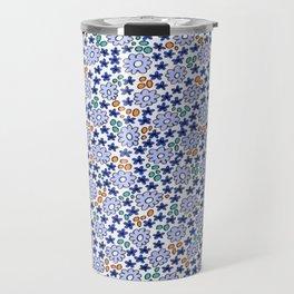 Ditsy Flora Blue Travel Mug