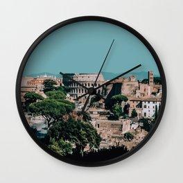 Rome, Italy Travel Artwork Wall Clock