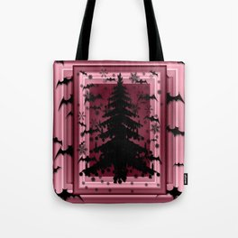 BATTY CHRISTMAS Tote Bag