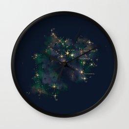 Sagittarius Constellation Wall Clock