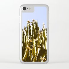 Sticky Cacti Clear iPhone Case