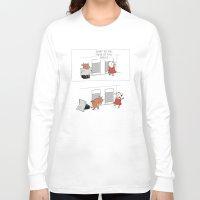 dress Long Sleeve T-shirts featuring The dress by Wawawiwa design