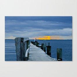 Scandic sunset Canvas Print
