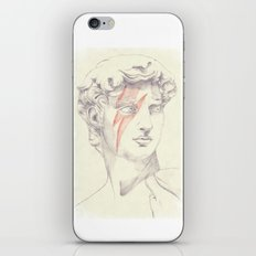 David: Michelangelo and Bowie iPhone & iPod Skin