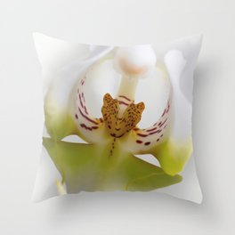 Phalaneopsis Throw Pillow